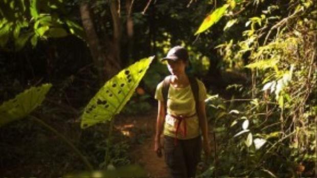 Hành trình băng rừng của Suboi tại Sơn Đoòng.
