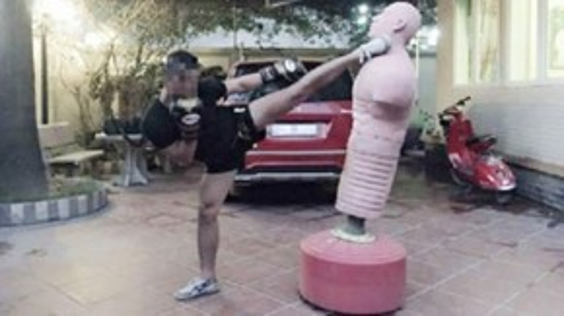 Lâm Duy H. vốn là một tán thủ Wushu lâu năm