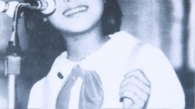 Thanh Lam khi còn nhỏ đã rất xinh đẹp.
