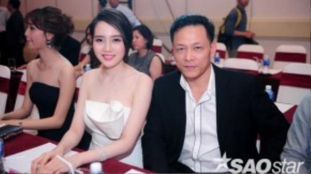 Vợ chồng đạo diễn Ngô Qaung Hải - Diệp Hồng Đào.
