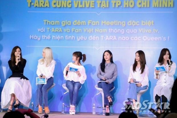 Không bao giờ các fan có thể quên những khoảnh khắc này của T-Ara tại Việt Nam