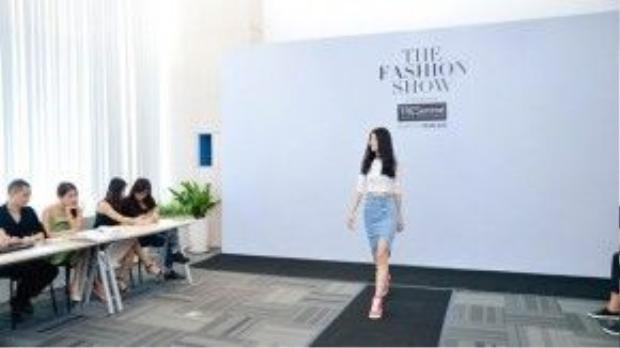 Kha Mỹ Vân là một trong những gương mặt ấn tượng nhất có mặt trong buổi casting cho Fashion show khủng của năm 2016 hôm nay, ngày 16/3.