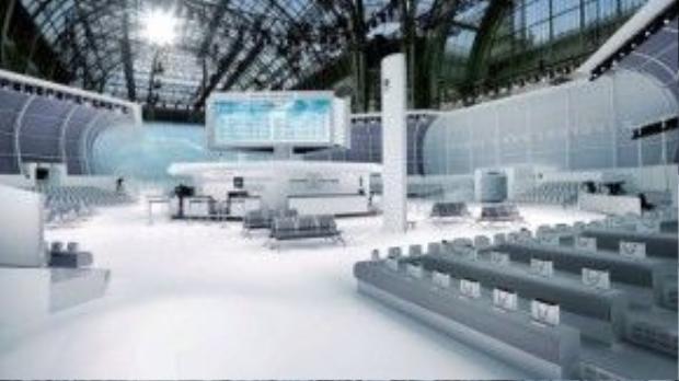 Sân bay 5 sao của Chanel Airlines tại Grand Palais, Paris
