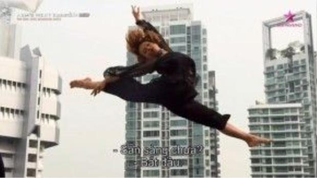 Phần thể hiện ấn tượng của Quỳnh Mai.