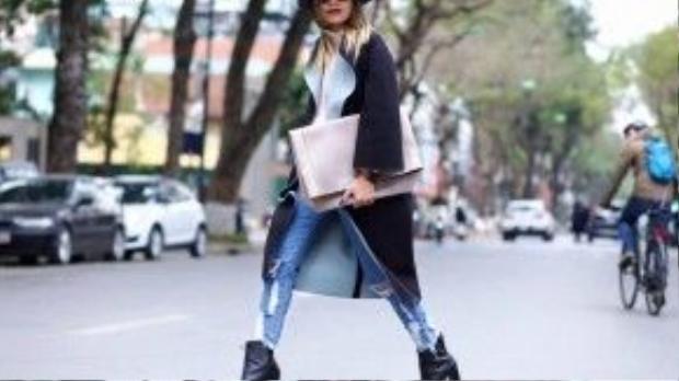 Lối ăn mặc trong phong cách này không cần phải chải chuốt cầu kỳ, chỉ đơn giản là những chiếc quần jeans, áo phông…