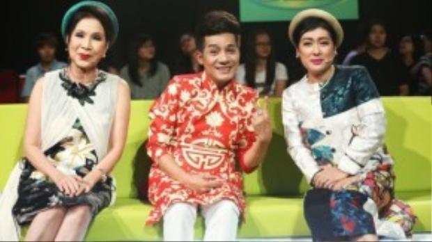 Bộ ba giám khảo: NSƯT Kim Xuân, nghệ sĩ Minh Nhí và nghệ sĩ Thanh Thủy
