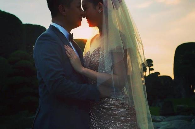 Á hậu Trà My chi 90 triệu cho chiếc váy cưới cúp ngực