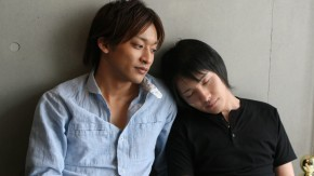 hai diễn viên: Watari Kouki và Uchiyama Masato