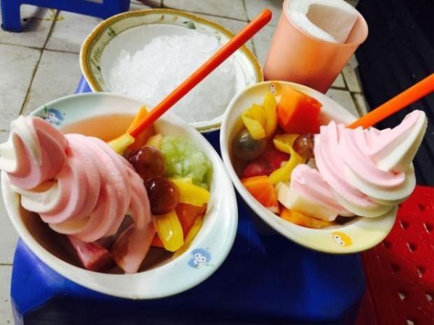 Giới trẻ Hà thành đổ xô đi ăn loạt kem mới lạ