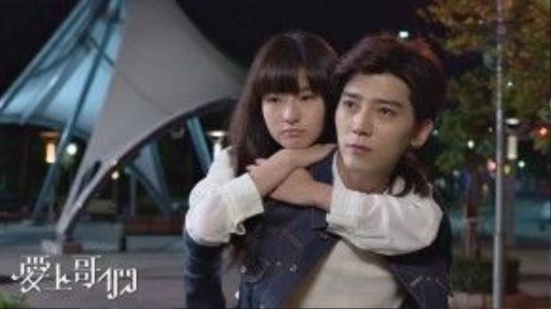 """""""Anh chính là mặt trời nhỏ của em, chỉ cần ở bên anh em sẽ cảm thấy ấm áp """" - Dương Na Na"""