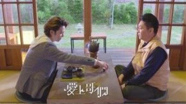 Đỗ Tử Phong chăm sóc cho ba trong thời gian ông bị mất trí nhớ.
