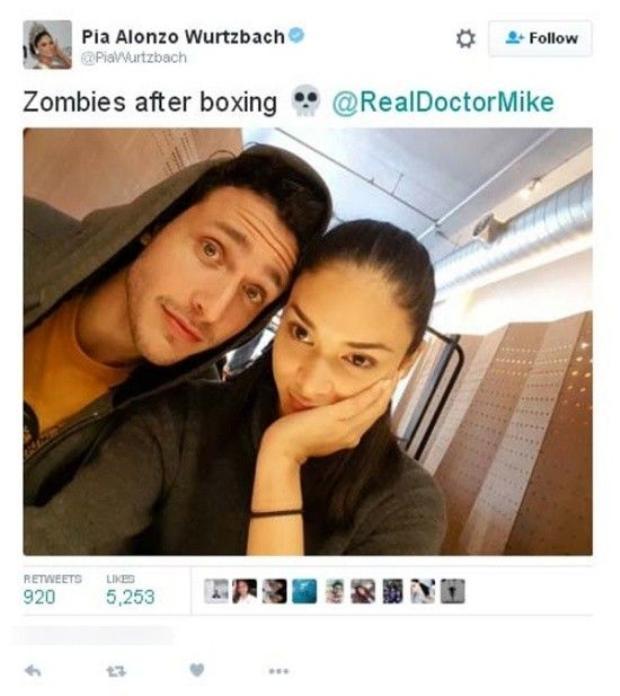 Hoa hậu Hoàn vũ xác nhận hẹn hò bác sĩ đẹp trai nhất thế giới