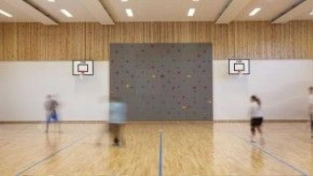 Phòng thể thao trong trại giam Halden được trang bị hiện đại không kém các trung tâm thi đấu.