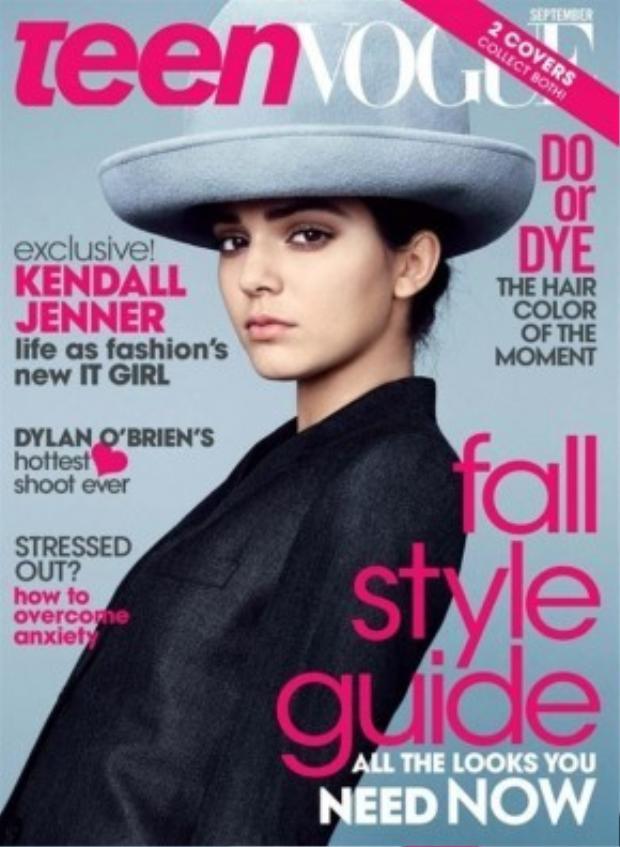 Kendall cũng được mời làm người mẫu ảnh bìa cho những tạp chí thời trang nổi tiếng như Vogue, Harper's Bazaar, Teen Vogue.