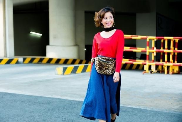 Hot hừng hực với street style ngập tràn sắc màu cùng Tuyền Tăng