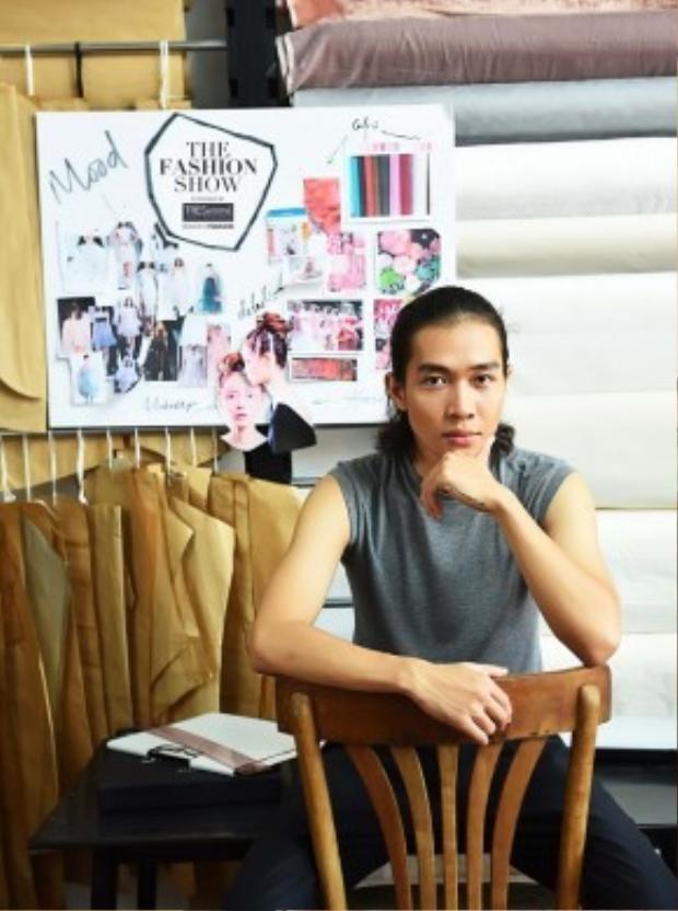 Hoàng Tú là 1 trong 5 NTK sẽ tham gia chương trình The Fashion Show powered by TRESemme.