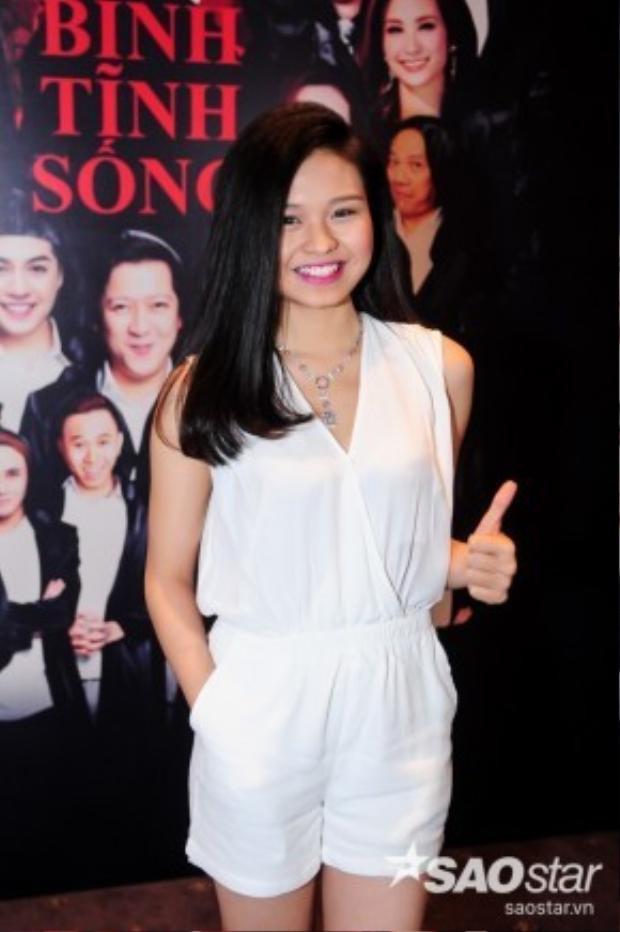 Gương mặt trẻ Lê Lộc - con gái của diễn viên Lê Giang.