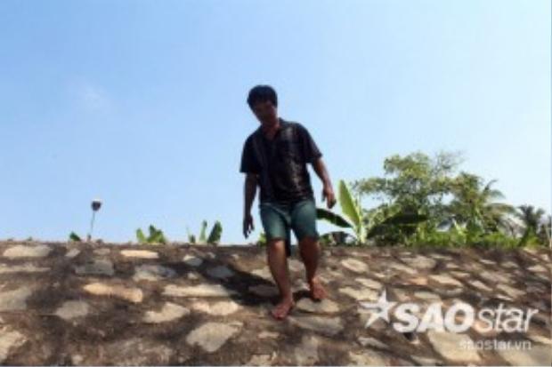 Không bận tâm vì chuyện khen thưởng, ông Sơn chỉ buồn vì câu cầu cổ của TP Biên Hòa đã hư hỏng.
