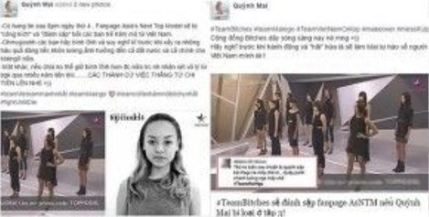 Quỳnh Mai và những status 'kích động' càng khiến fan thêm cuồng
