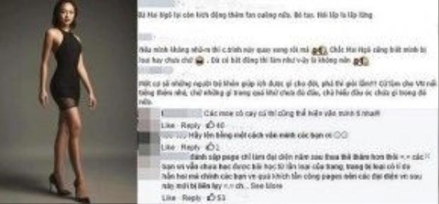 ư dân mạng không đồng tình với cách thể hiện thái độ của fan quá khích muốn 'đánh sập' Fanpage chương trình Asia's Next Top Model 4 nếu Quỳnh Mai bị loại ở tập 3