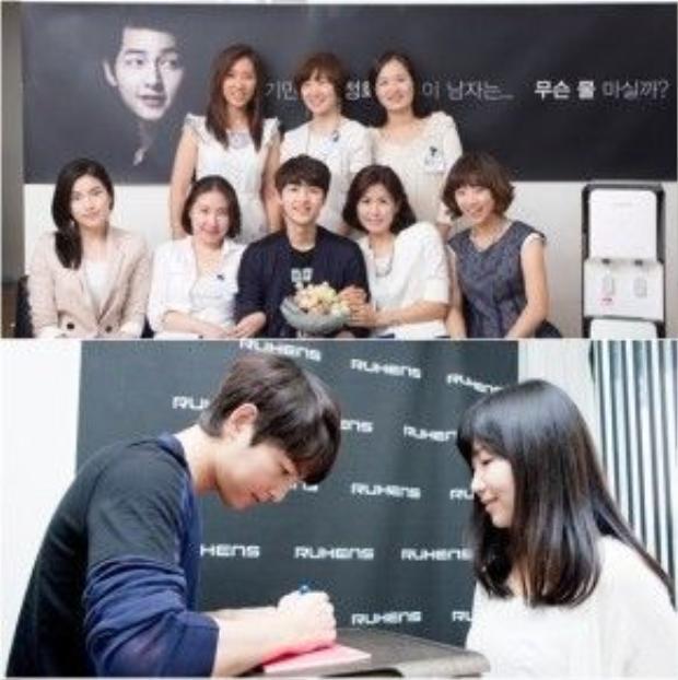 Song Joong Ki sắp tổ chức tour gặp mặt fans khắp Trung Quốc.