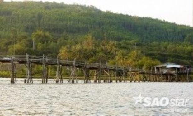 Bề mặt cầu chỉ rộng khoảng 1,5-1,8m và các thanh gỗ được xếp xen kẽ, thỉnh thoảng lại bị hụt tạo nên các khoảng trống sẽ là thách thức cho các phượt thủ muốn chinh phục hết chiều dài của cây cầu kỷ lục.