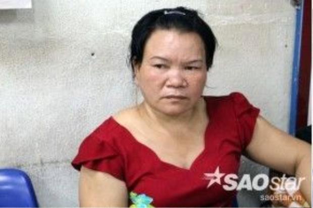 Bà Nguyễn Thị Cẩm, vợ ông Nén.