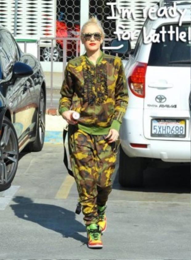 Nữ ca sĩ đa tài Gwen Stefani.