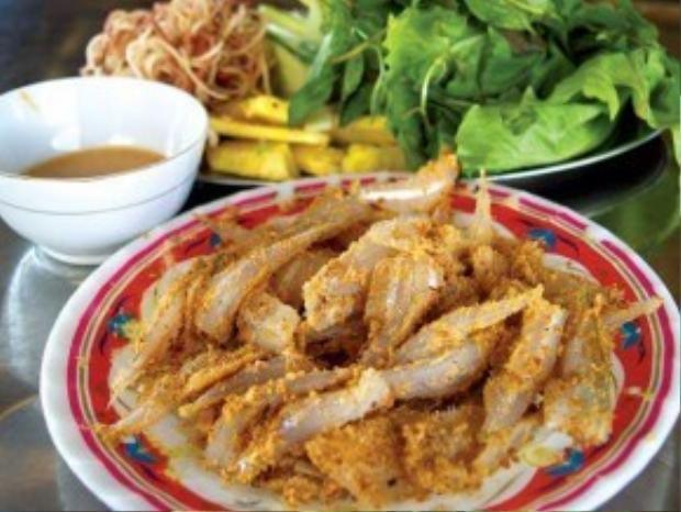 Gỏi cá Cù lao Phố hay còn gọi là gỏi cá Tân Mai.