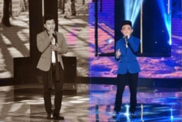 Cùng với chất giọng dày và rền theo như HLV nhận xét là sinh ra để hát Bolero, Trung Quang xuất sắc là thí sinh đi tiếp của đội HLV Đan Trường.