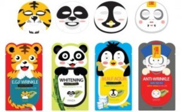 Việc đắp mặt nạ trở nên thú vị hơn nhờ các sản phẩm có thiết kế mới lạ và màu sắc sinh động