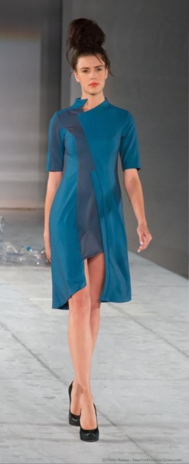 """Sau nhiều năm """"tấn công"""" thị trường Mỹ, Quỳnh Paris là nhà thiết kế Việt hiếm hoi có được chỗ đứng. Chị sở hữu phong cách thiết kế thời trang riêng biệt, nhưng lại gắn liền với xu hướng dẫn đầu của trào lưu thế giới."""