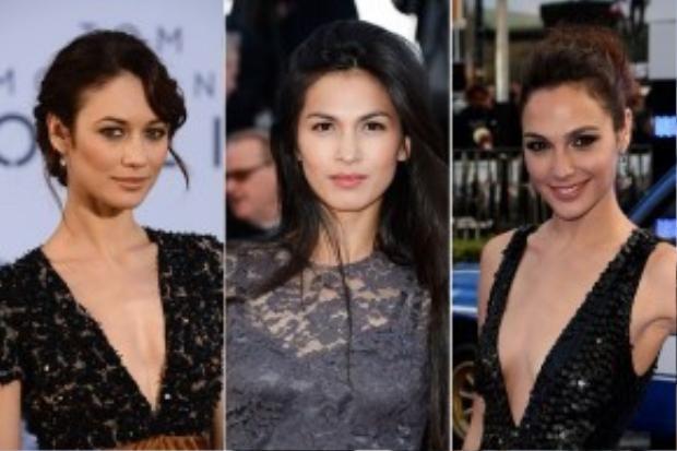 Olga Kurylenko, Elodie Yung và Gal Gadot từng 'giành giật' vai diễn nữ siêu anh hùng Wonder Woman.