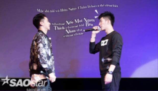 Khi được hỏi về mối quan hệ với bạn diễn Hứa Ngụy Châu, Hoàng Cảnh Đu để ngỏ khả năng của cặp đôi trong tương lai.