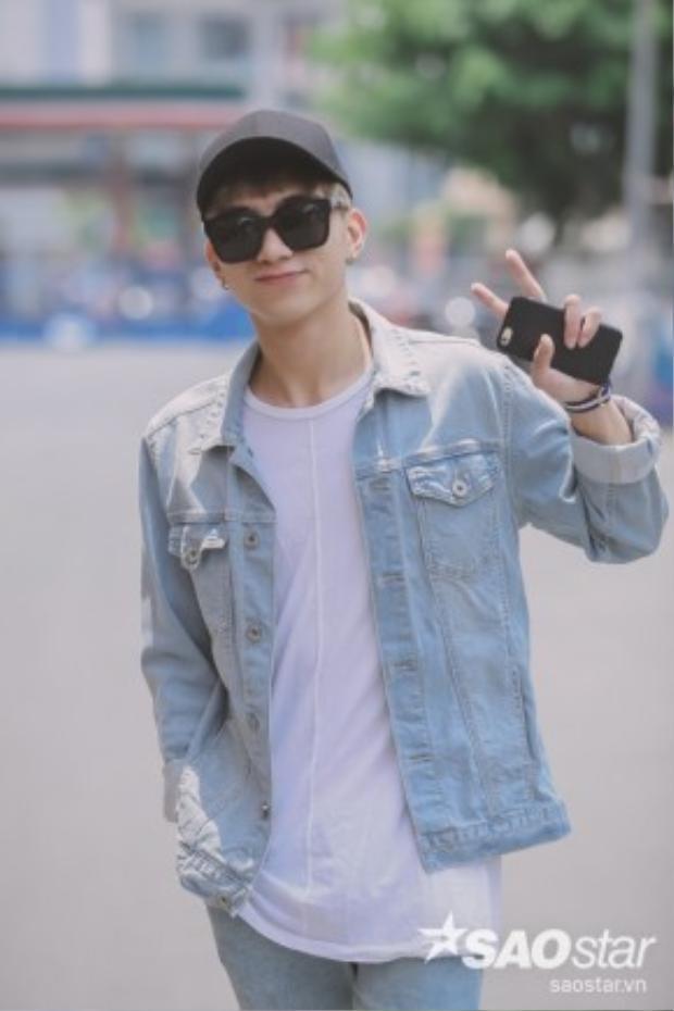 Ca sĩ điển trai, đa tài Soobin Hoàng Sơn.