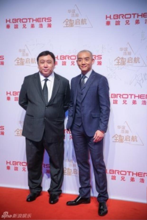 Đạo diễn Vương Tinh và Trịnh Khải.