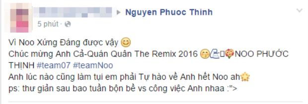 Noo Phước Thịnh bị fan bao vây nghẹt thở sau khi đăng quang The Remix