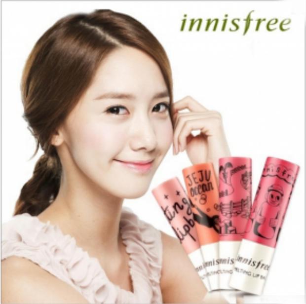 Yoona xinh đẹp của SNSD từng là người đại diện cho dòng sản phẩm siêu hot này.