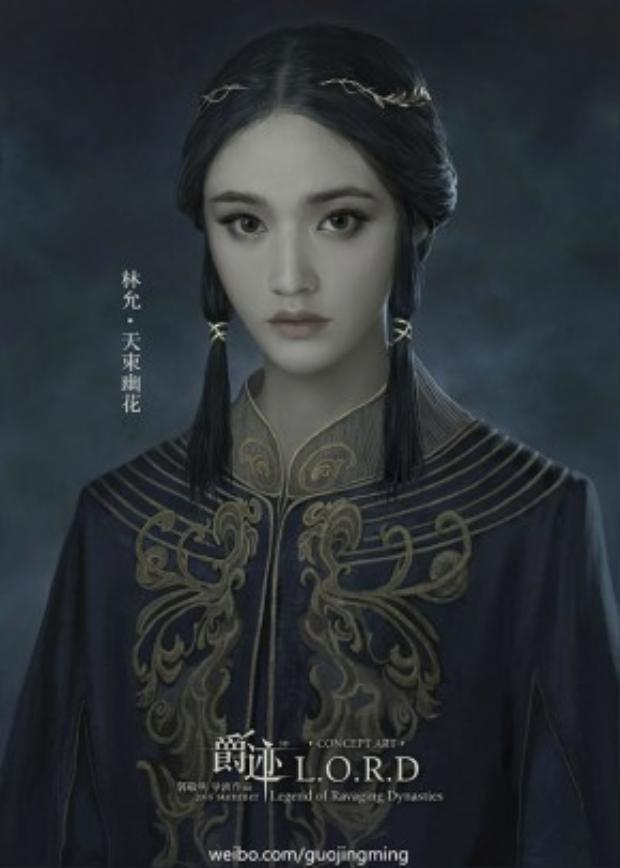 """""""nàng tiên cá"""" Lâm Duẫn nay đã hoá thân thành Thiên Thúc U Hoa."""