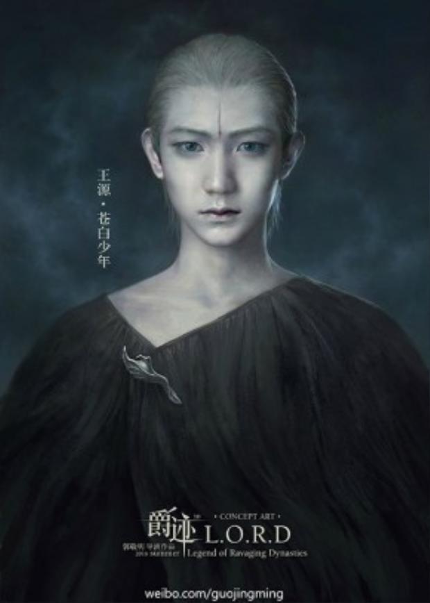 Cậu trai nhỏ tuổi nhất nhưng sở hữu một lượng fan không hề nhỏ - Vương Nguyên (TF Boys) trong vai Thương Bạch Thiếu Niên.