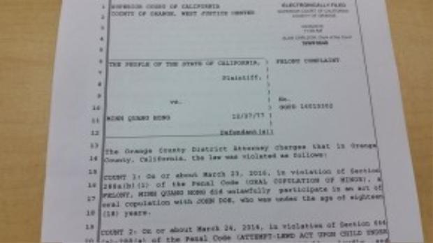 Thông cáo báo chí của Cơ quan công tố quân Cam về vụ việc của nghệ sĩ hài Mình Béo.