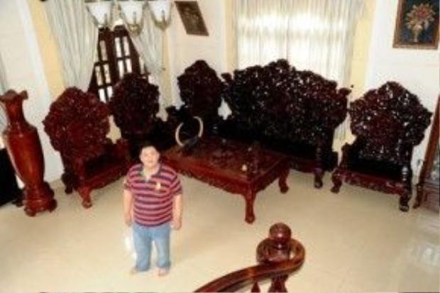 Căn biệt thự được Minh Béo giới thiệu trong chương trình truyền hình là của người khác.