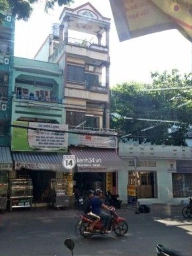 Ngôi nhà mà cả gia đình Minh Béo gồm có: Mẹ, anh trai, chị dâu, cháu trai đang sống. Ảnh: Trí Thức Trẻ