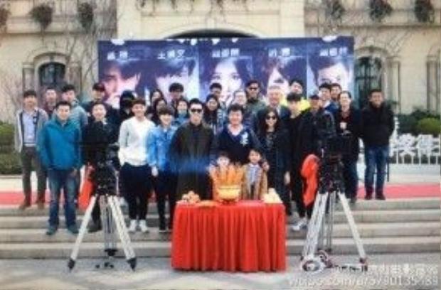Buổi khởi quay chính thức của đoàn làm phim ngày 22/3