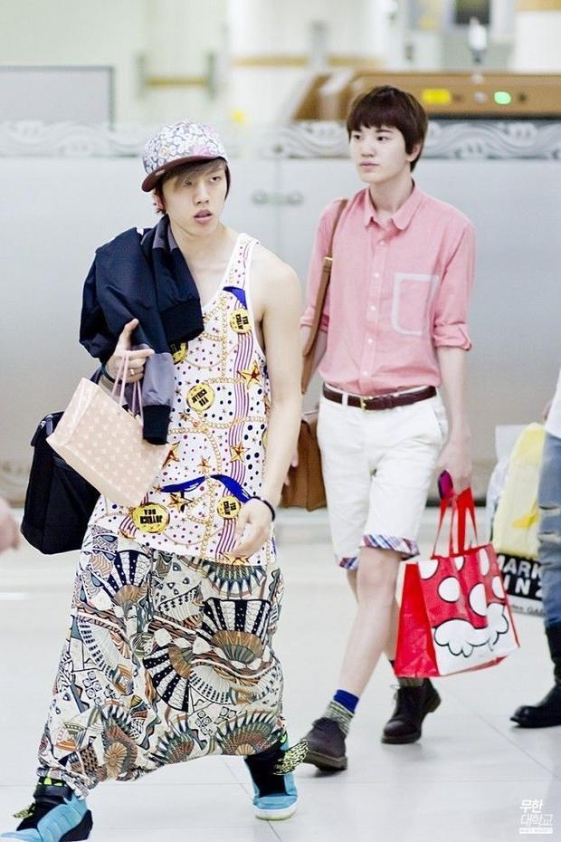 Cư dân mạng Hàn Quốc bó tay với style dị của DongWoo (INFINITE)