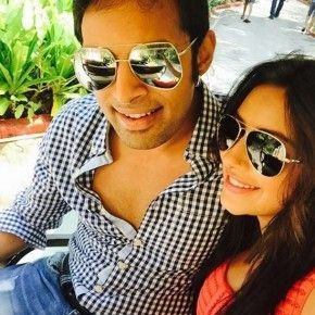 Hình ảnh cuối cùng của Pratyusha Banerjee và bạn trai được đăng tải trên instagram cá nhân.