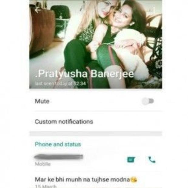 Những dòng chữ cuối cùng Pratyusha Banerjee viết trên trang mạn xã hội cá nhân báo trước về cái chết của cô?