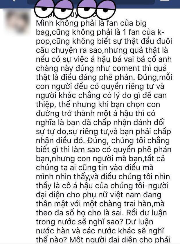 Á hậu Tú Anh bị ném đá vì quá thân thiết với Seungri tại Hà Nội