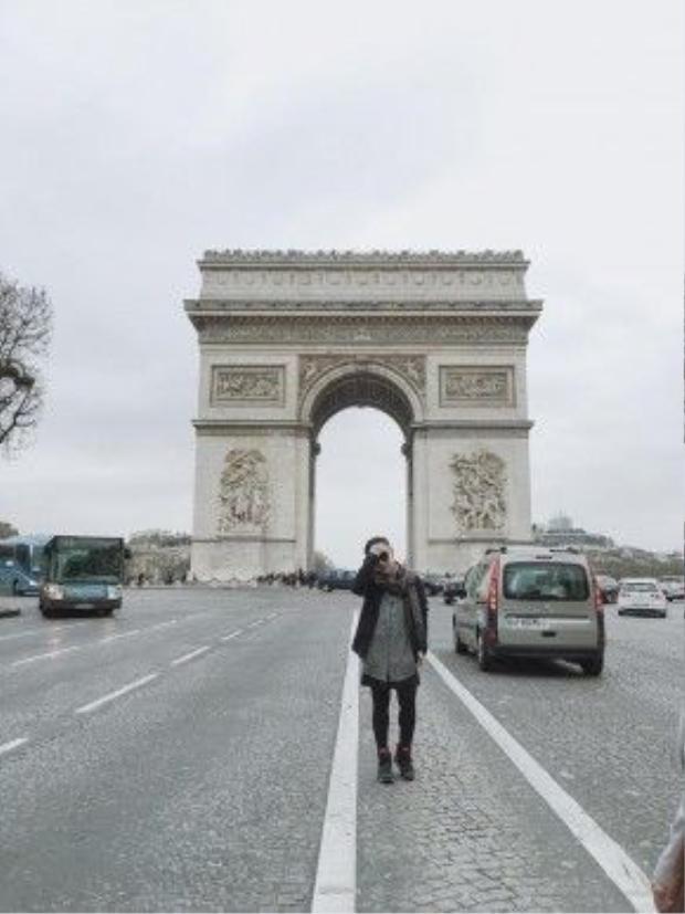 Khải hoàn môn Paris.