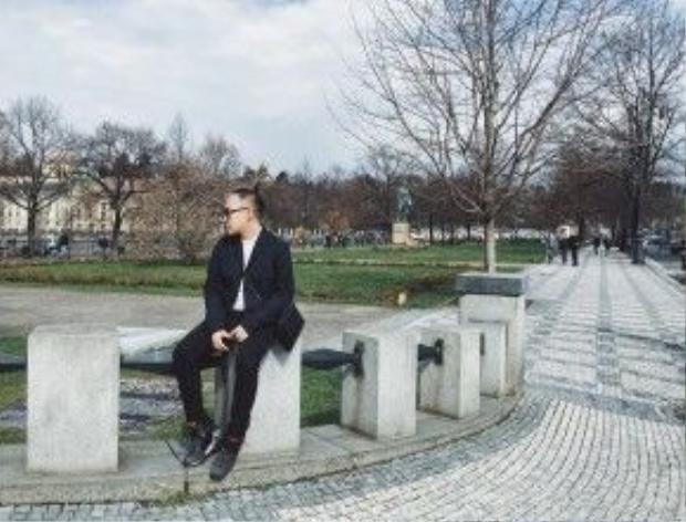 """Một bức ảnh """"so deep"""" được chụp lại tại Lâu đài Praha."""